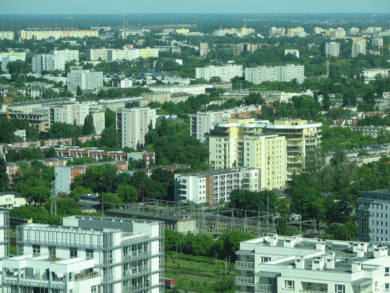 Panorama Żoliborza – widok zINTRACO