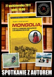 Mongolia – Przedpremiera książki Adama Wiśniewskiego