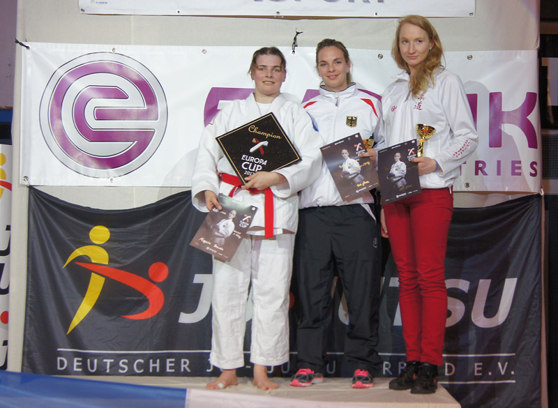 Brązowy medal  wJiu-Jitsu dla Agnieszki Chlipały